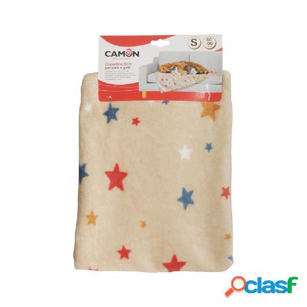 Camon Copertina Soft con stelline 60x90 cm