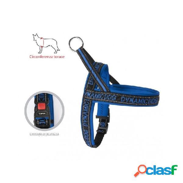 Camon - Dynamic Dog Pettorina Per Cani Blu Circonferenza Del
