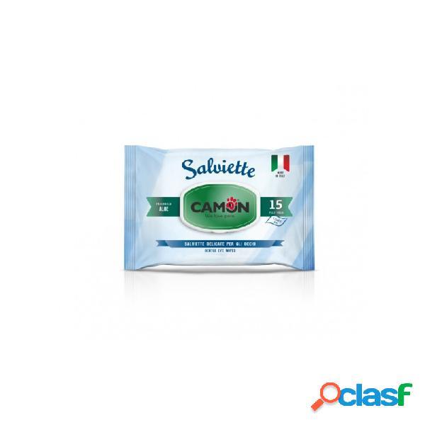 Camon - Salviette Detergenti Occhi Per Cani E Gatti
