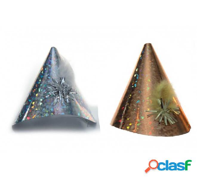 Cappello medio metallico in vari colori