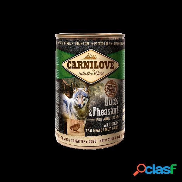 Carnilove - Carnilove Anatra E Fagiano Cibo Umido Per Cani