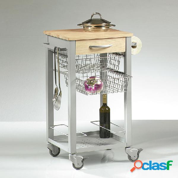 Carrello da Cucina con cestelli estraibili CUISINE 46x46xh86