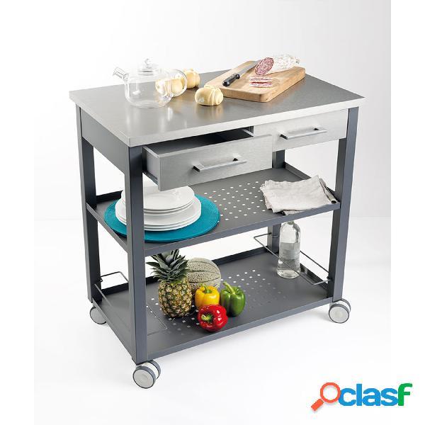 Carrello da Cucina professionale CHEF con struttura e