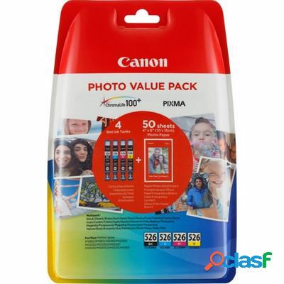 Cartuccia Canon 4540B018 Multipack CLI-526 (Conf. da 4 pz.)