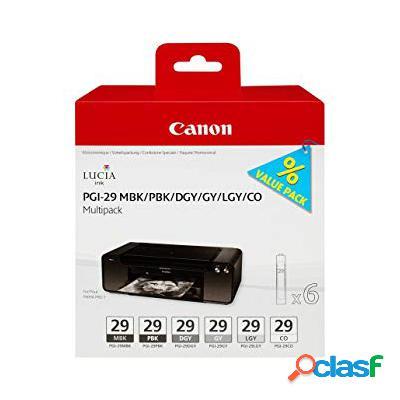 Cartuccia Canon 4868B018 Multipack PGI-29 (Conf. da 5 pz.)