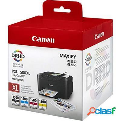 Cartuccia Canon 9182B005 Multipack PGI-1500XL (Conf. da 4
