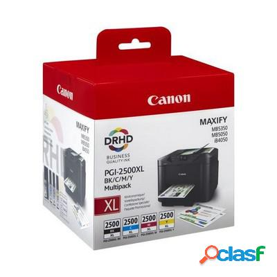 Cartuccia Canon 9254B005 Multipack PGI-2500XL (Conf. da 4