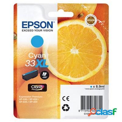 Cartuccia Epson C13T33624010 T33XL Arancia originale CIANO