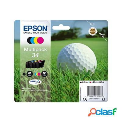 Cartuccia Epson C13T34664010 Multipack 34 Pallina da Golf