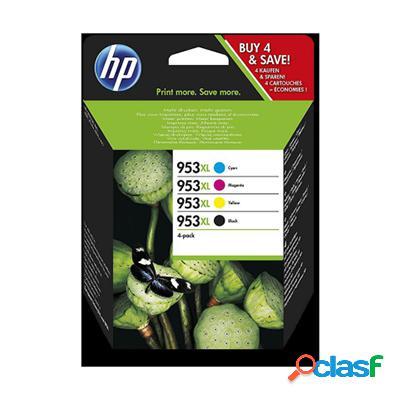 Cartuccia Hp 3HZ52AE Multipack 953XL (Conf. da 4 pz.)