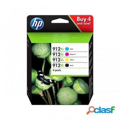 Cartuccia Hp 3YP34AE Multipack 912XL (Conf. da 4 pz.)