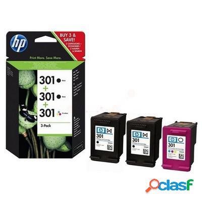 Cartuccia Hp E5Y87EE Multipack 301XL (Conf. da 3 pz.)
