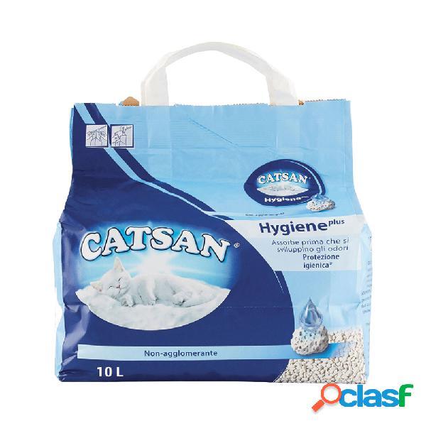Catsan lettiera hygiene plus 10 lt