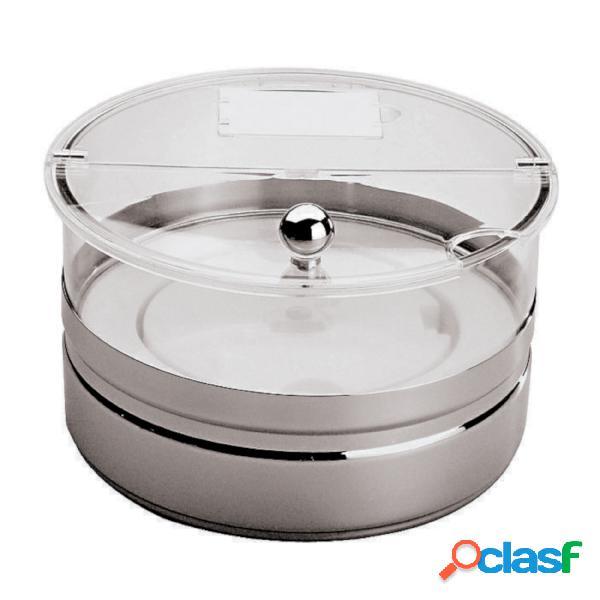 Ciotola Refrigerata Maxi Buffet Inox, Lt 2,5 - peso 2,19 kg