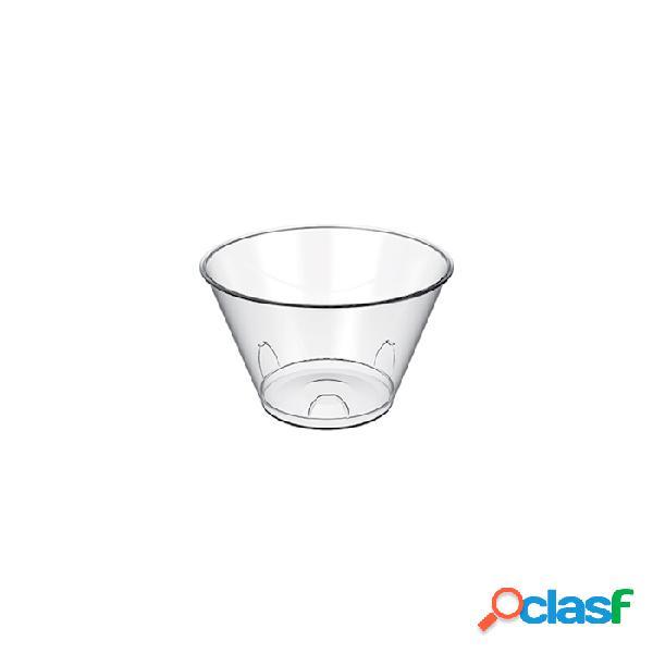 Coppetta Tulipano Monouso In Plastica Trasparente Cl 15 -
