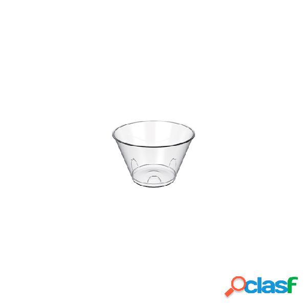 Coppetta Tulipano Monouso In Plastica Trasparente Cl 7 -