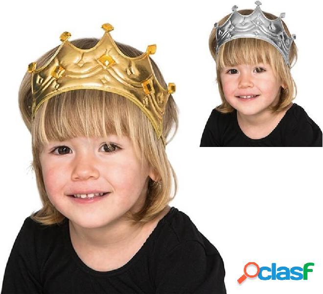 Corona per re in vari colori per bambini