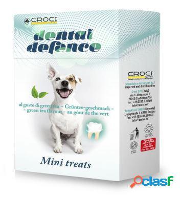 Croci snack per cani dental defence gr 35 treat green tea