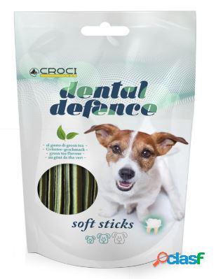 Croci snack per cani dental defence gr 60 soft stick green