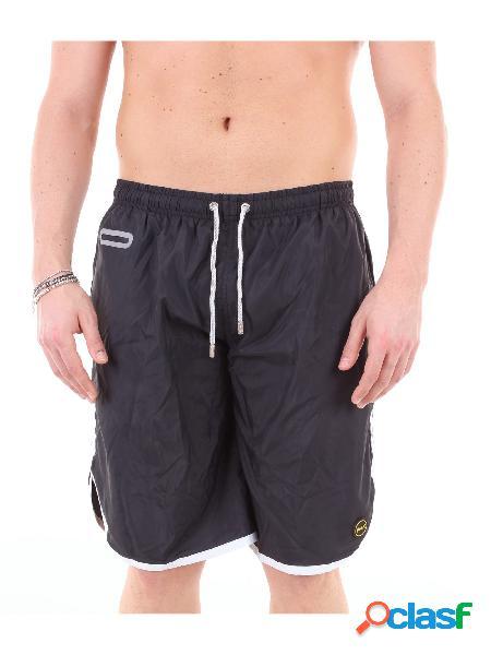 F**K F**k shorts da mare di colore nero Costumi Da Bagno