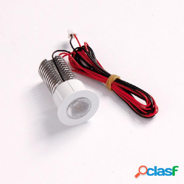 Faretto a LED da incasso 1x3W rotondo diametro 30mm - bianco