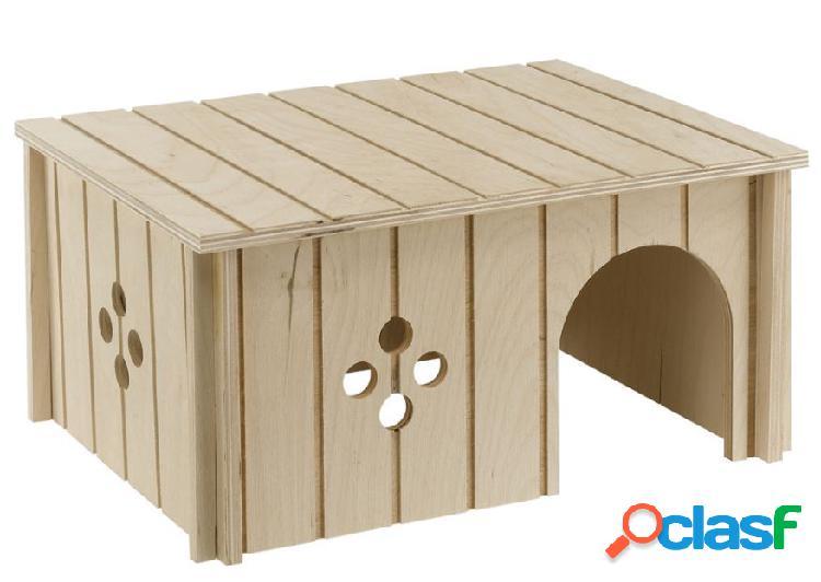 Ferplast casetta per conigli in legno ecosostenibile tree