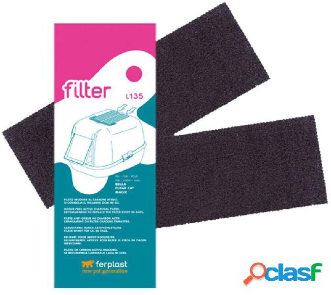 Ferplast filtro carbone toilette l135