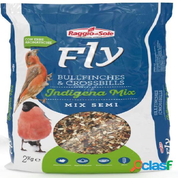 Fly bullfinches & crossbills indigena mix semi kg 2 - mix di