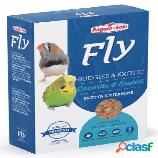 Fly cocorite ed esotici frutta vitamente gr 300 -