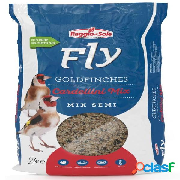 Fly extra goldfinches cardellini mix kg 2 - mix di semi