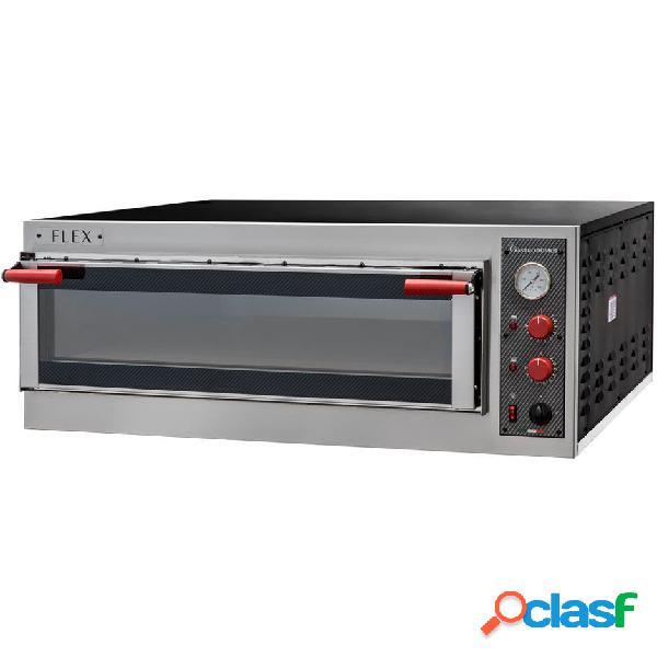 Forno elettrico con porta vetro per 5 teglie 60x40 o 9 pizze