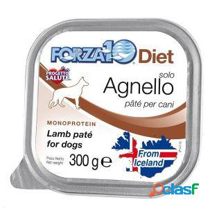 Forza10 cane solo diet pate' agnello gr 300