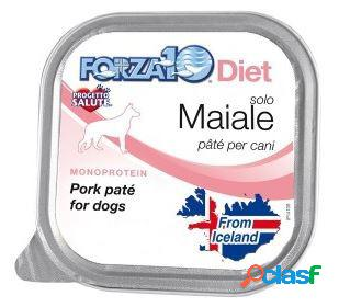 Forza10 cane solo diet pate' maiale gr 100
