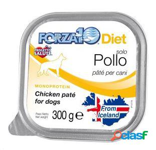 Forza10 cane solo diet pate' pollo gr 300