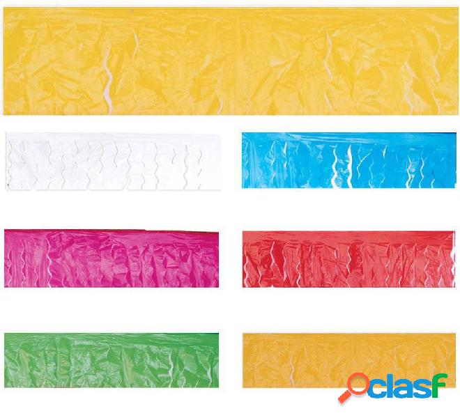Frange di plastica in vari colori 25 m