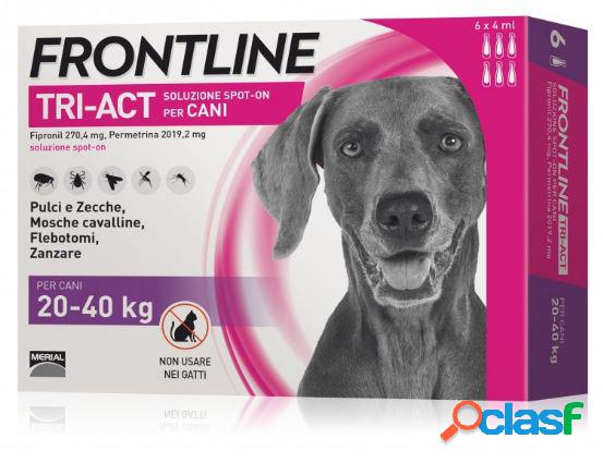 Frontline tri-act spot on l 20-40 kg 6 pipette