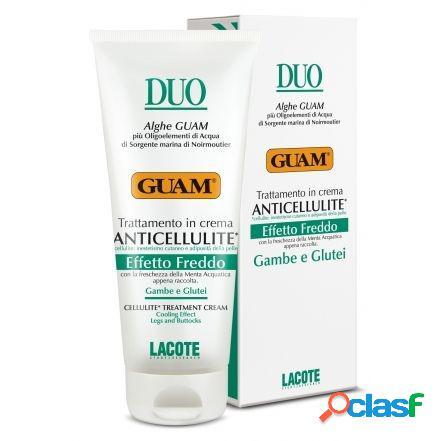 GUAM Crema Duo Anticellulite Effetto Freddo 200ML