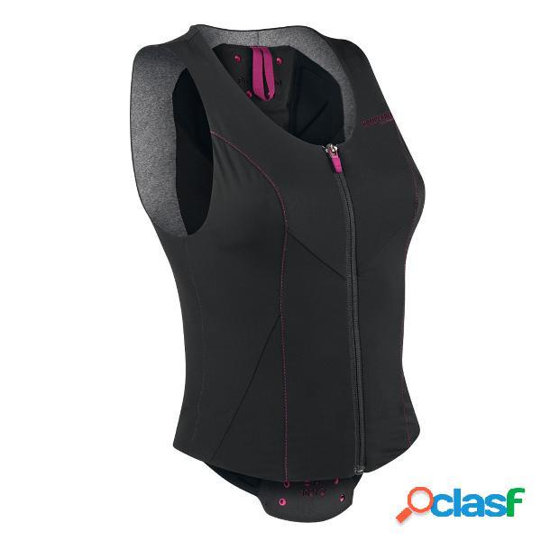 Gilet con protezioni Komperdell Air (Colore: nero-rosa,