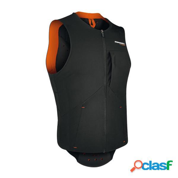 Gilet con protezioni Komperdell Pro (Colore: nero-arancione,