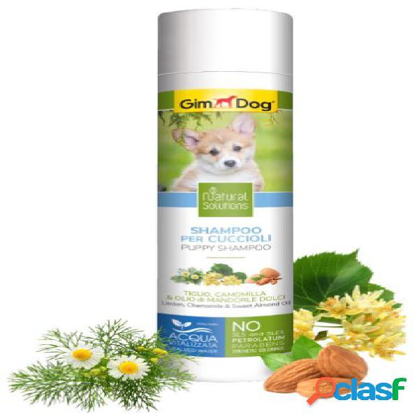 Gimdog natural solutions shampoo per cani 250 ml cuccioli