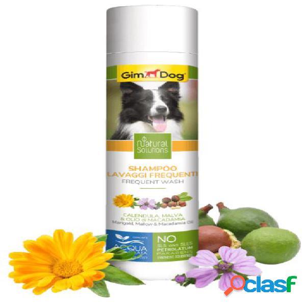 Gimdog natural solutions shampoo per cani 250 ml lavaggi