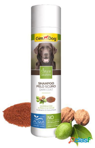 Gimdog natural solutions shampoo per cani 250 ml pelo