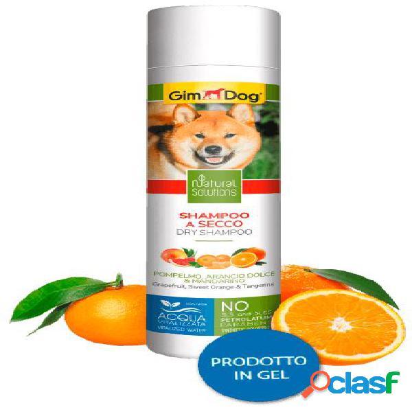 Gimdog natural solutions shampoo per cani 250 ml secco