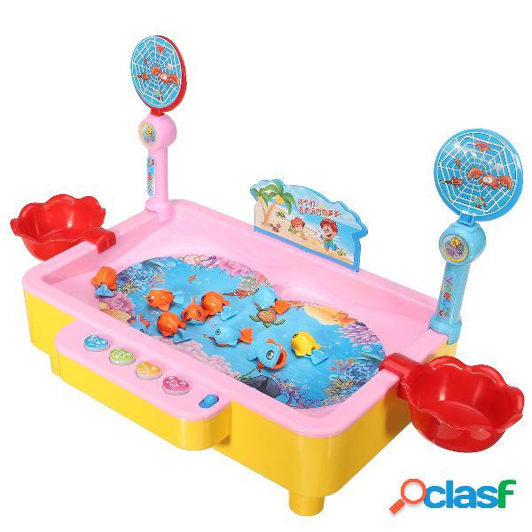 Giocattolo colorato giocattolo educativo di pesca giocattolo