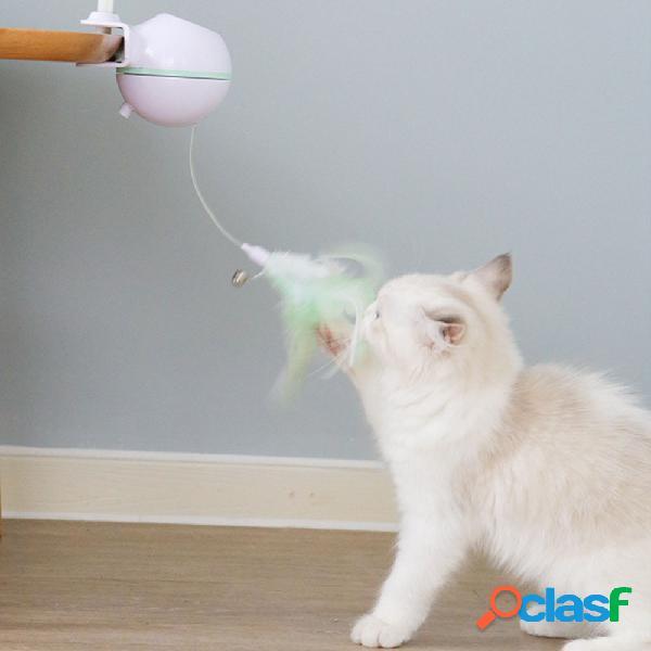Giocattolo gatto elettrico USB Pet LED Laser Gatto