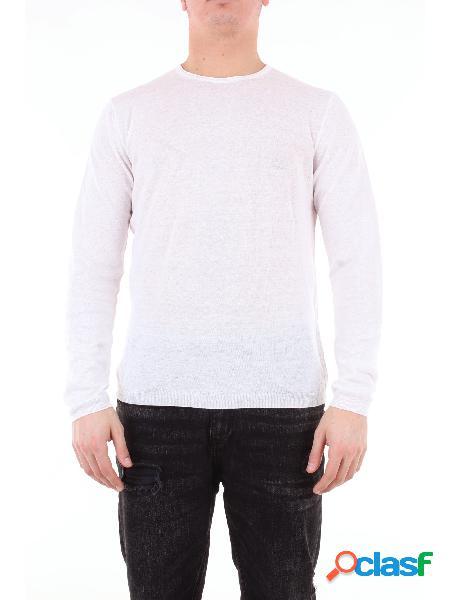 HERITAGE heritage maglia girocollo di colore bianco con