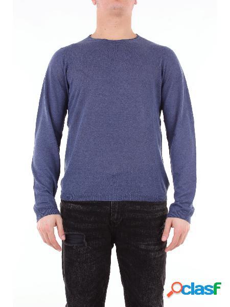 HERITAGE heritage maglia girocollo di colore bluette con