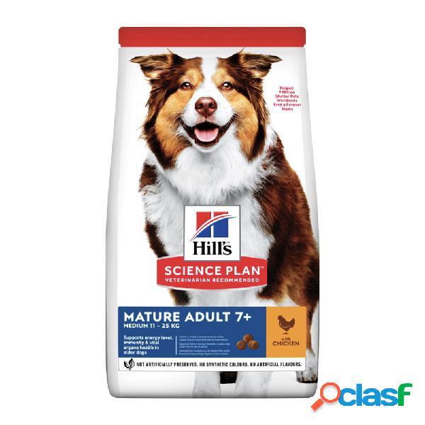 Hill's Science Plan Medium Mature Adult 7+ con Pollo 2,5 kg