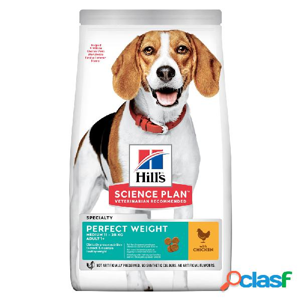 Hill's Science Plan Perfect Weight Medium con Pollo 2 kg