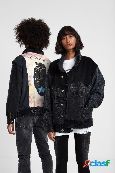 Iconic jacket ''Una bomba de amor'' - BLUE - S